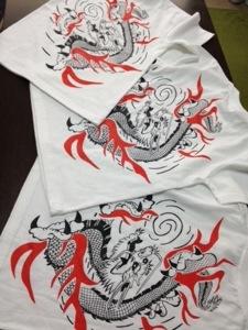 龍Tシャツ☆